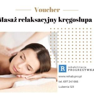 Voucher Masaż Relaksacyjny